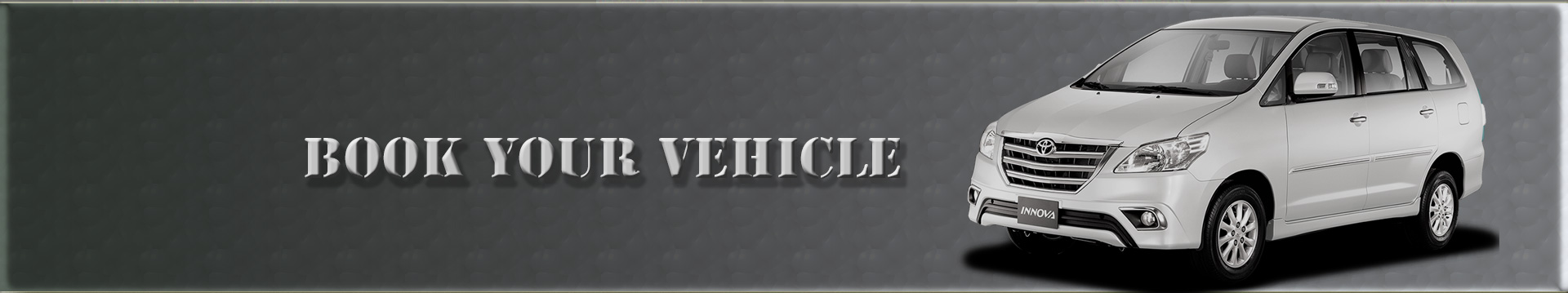 book your vehicle